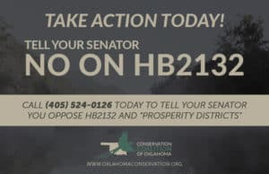 """Take Action against Oklahoma HB2132 and the creation of """"prosperity districts"""""""